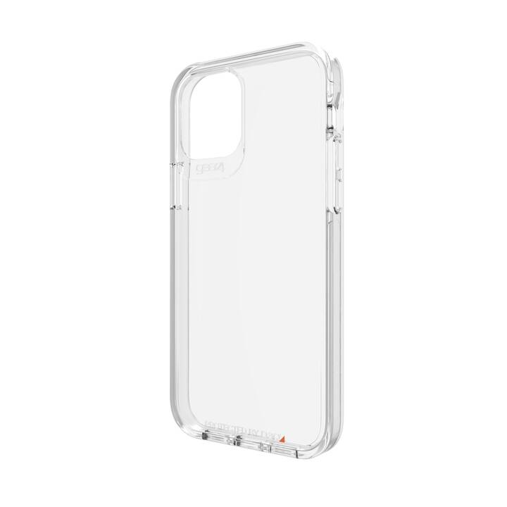 GEAR4 Backcover Crystal Palace (iPhone 12, iPhone 12 Pro, Antibatterico, Transparente)