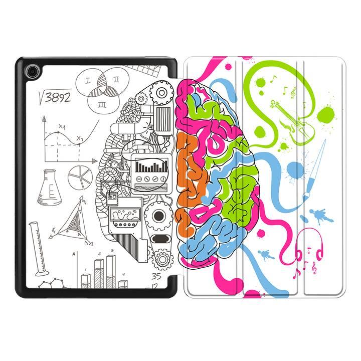 """EG MTT Coque pour HUAWEI MediaPad M5 Lite 8"""" 2019 - cerveau"""