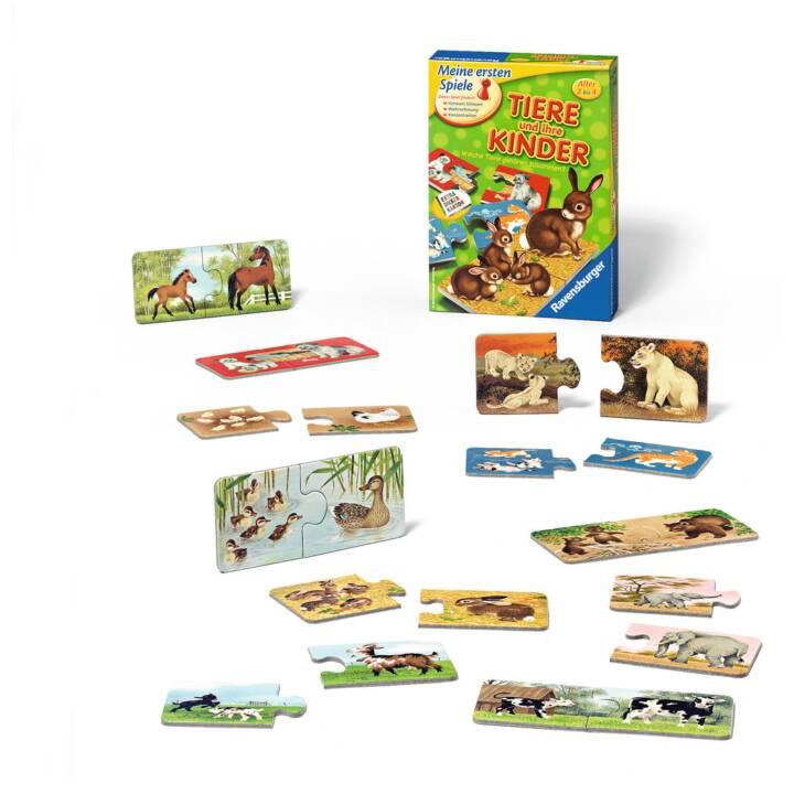 RAVENSBURGER Tiere und ihre Kinder Lernspiel