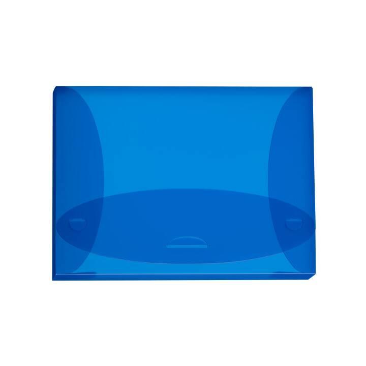 Scatola di raccolta KOLMA RACER Penda Easy 2,5 cm A4 blu A4