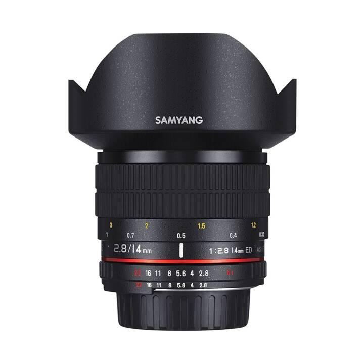 SAMYANG Weitwinkelobjektiv 14 mm f/2.8
