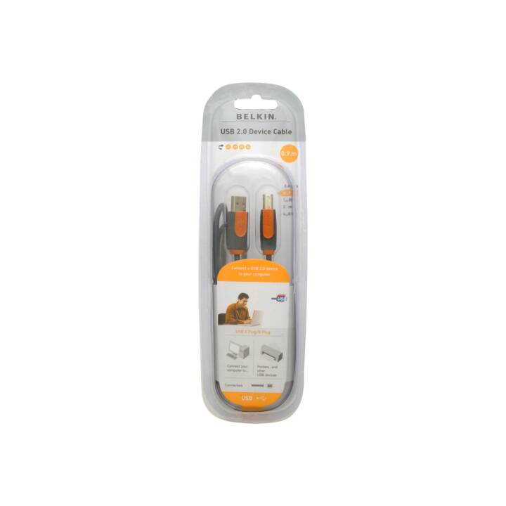 BELKIN USB-Kabel (USB 2.0 Micro Typ-B, USB 2.0 Typ-A, 90 cm)