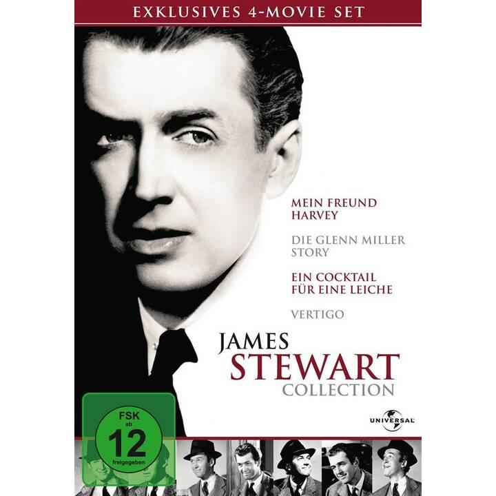 James Stewart Collection - Mein Freund Harvey / Die Glenn Miller Story / Cocktail für eine Leiche / Vertigo (DE, EN)