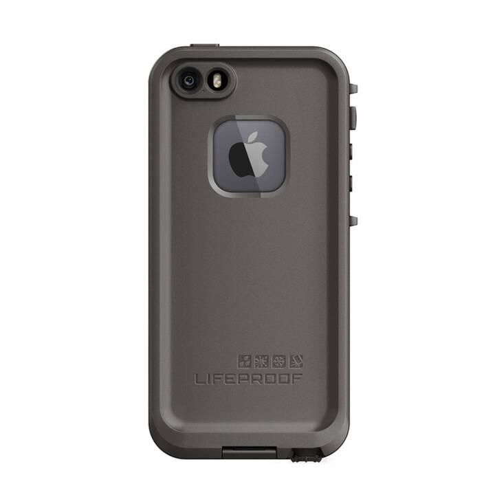 LIFEPROOF Hardcase Frē (iPhone SE, iPhone 5, iPhone 5S, Grau)