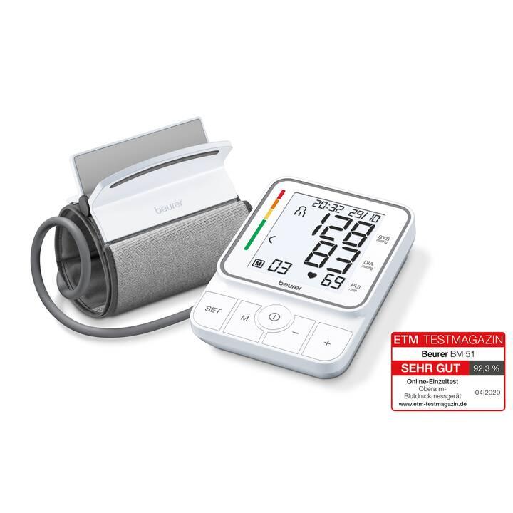 BEURER Sphygmomanomètre Easy-Clip BM 51 (Partie supérieure du bras)