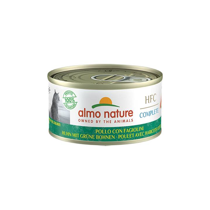 ALMO NATURE HFC Complete (Adulte, 70 g, Poule, Haricots)