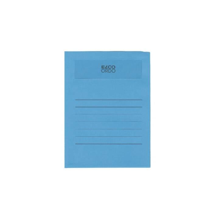 ELCO Sichthülle Ordo volumino A4 blau 50 Stück