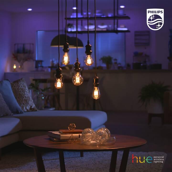PHILIPS HUE Ampoule LED White Filament BT (E27, Bluetooth, 7 W)