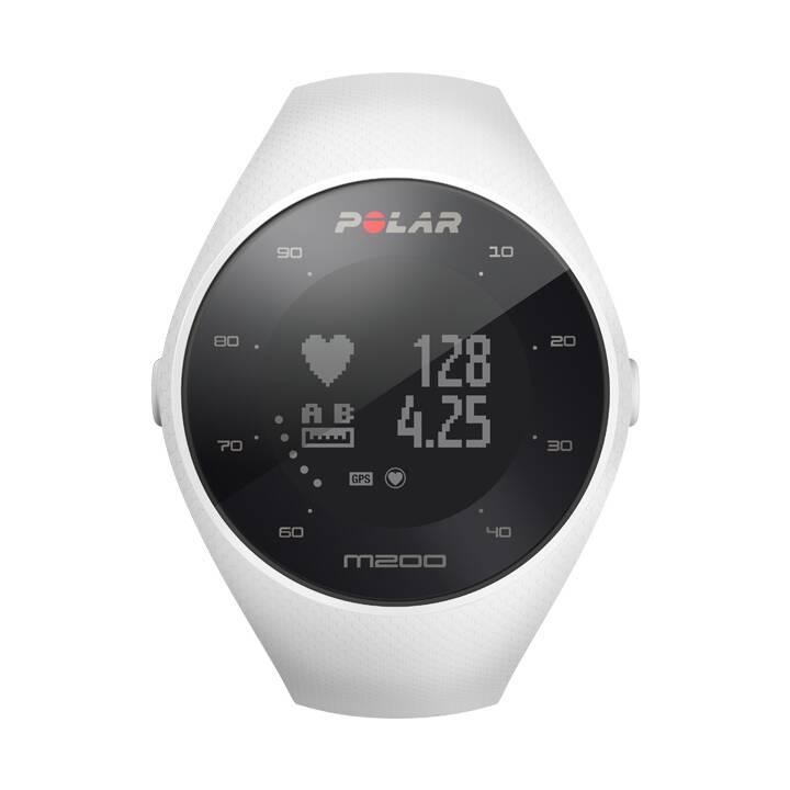 Horloge mouvement GPS POLAR M200 Blanc M/L