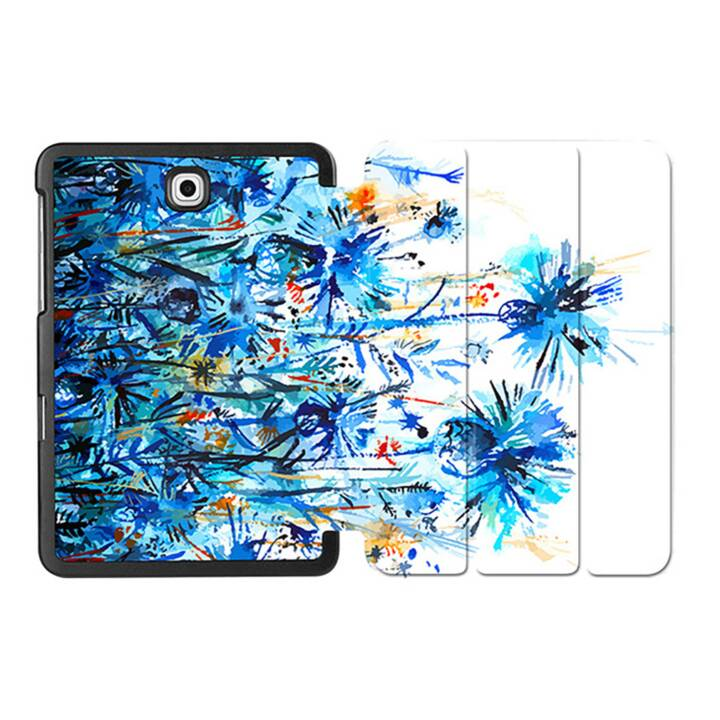"EG MTT Custodia tablet per Samsung Galaxy Tab S2 8"" - Blue Flower"
