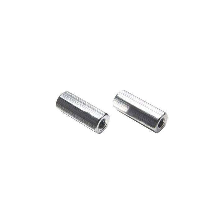 Distanziale EP M3, 6 mm, alluminio, 2 pz.
