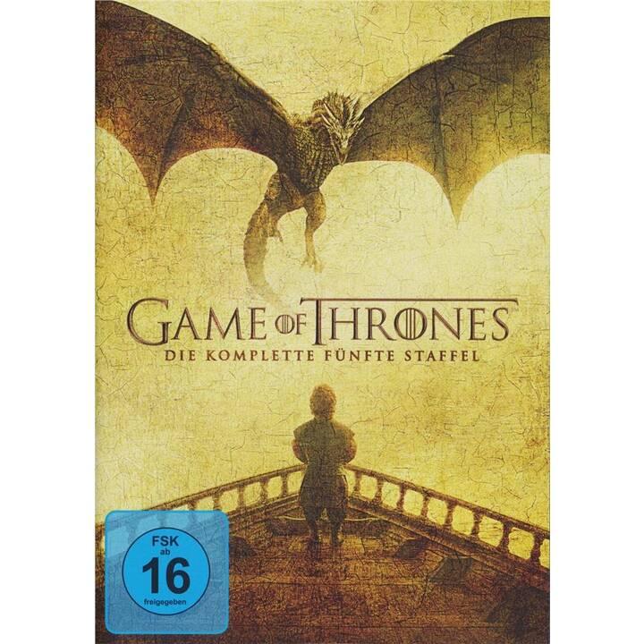 Game of Thrones Stagione 5 (ES, DE, EN, FR)