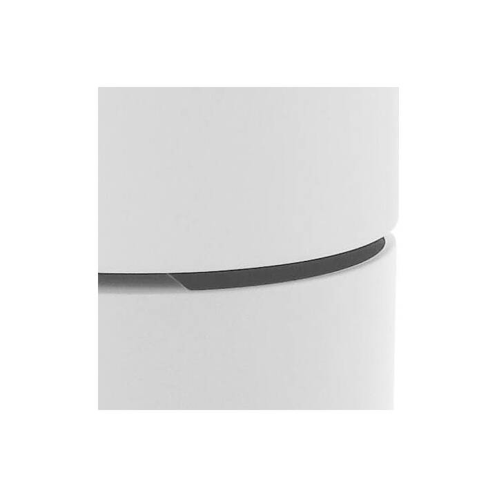 CREATIVE LIVING Table de salon Spleet (51 cm, Blanc)
