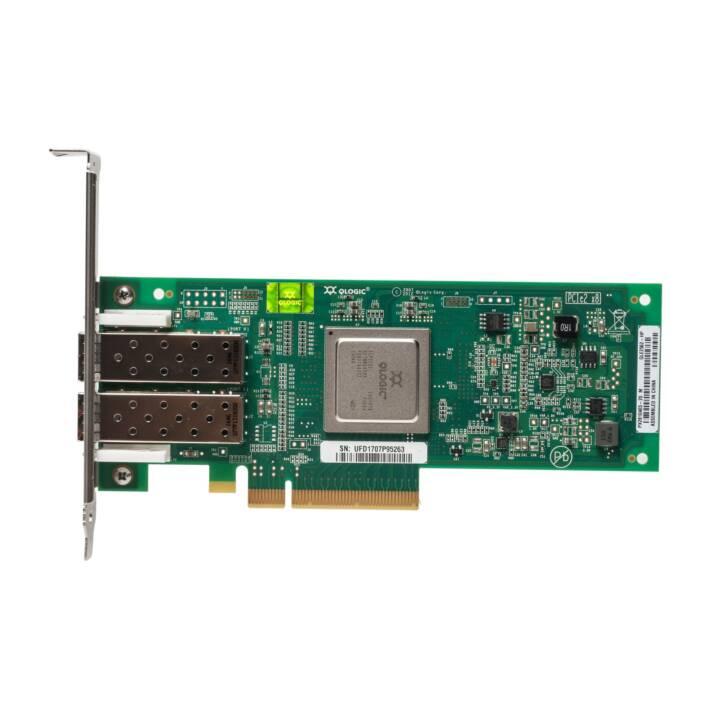 HPE Host Bus Adapter 2 Port Fibre Channel AJ764A 8GB 82Q
