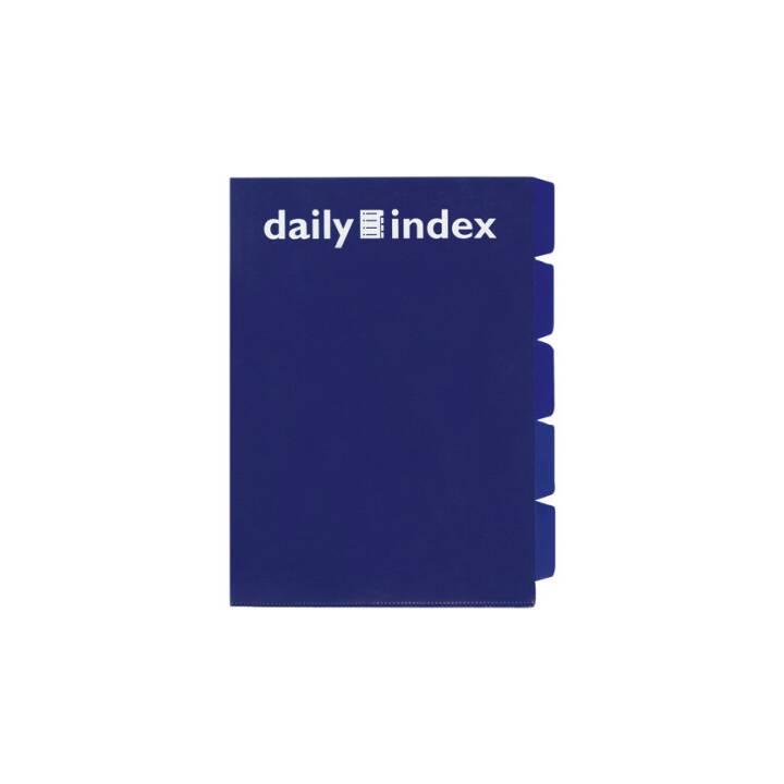 DAILY Organisationsmappen Daily A4 blau 3 Stück
