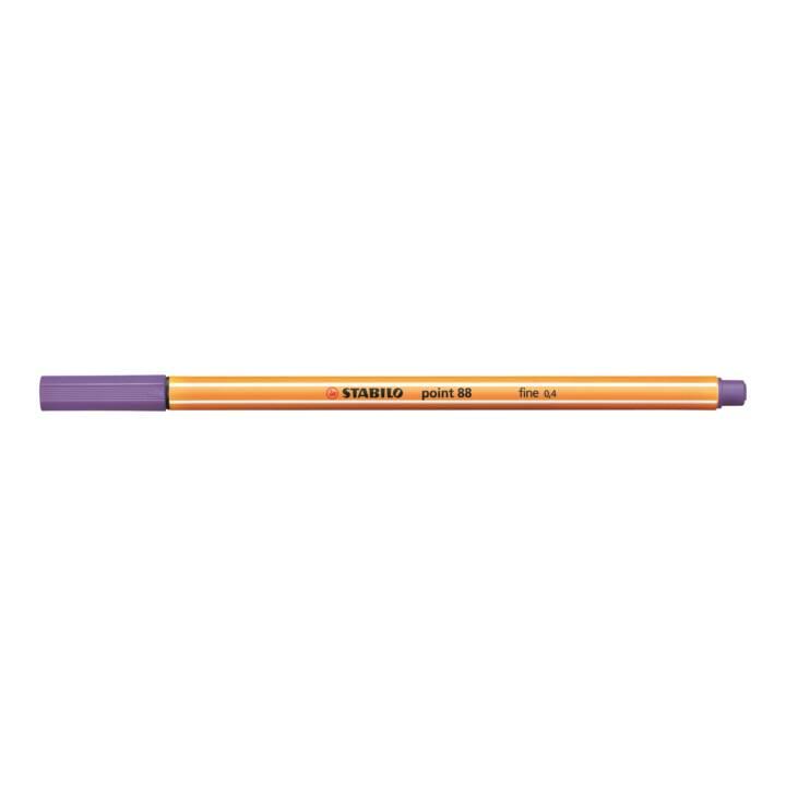 STABILO Fine Pen Point 88 0,4mm viola