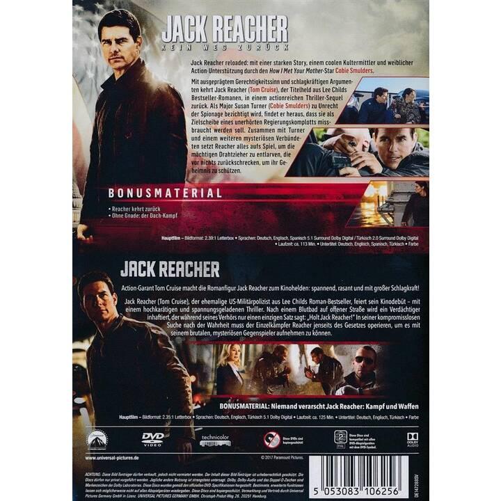 Jack Reacher / Jack Reacher 2 - Kein Weg zurück (DE, EN, TR)
