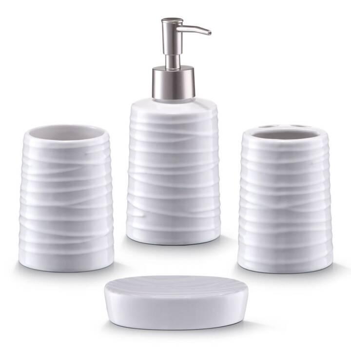 ZELLER PRESENT Distributore di sapone (Bianco, 0.3 l)