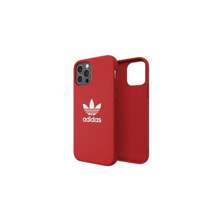 ADIDAS Backcover (iPhone 12 Pro, iPhone 12, Rouge)