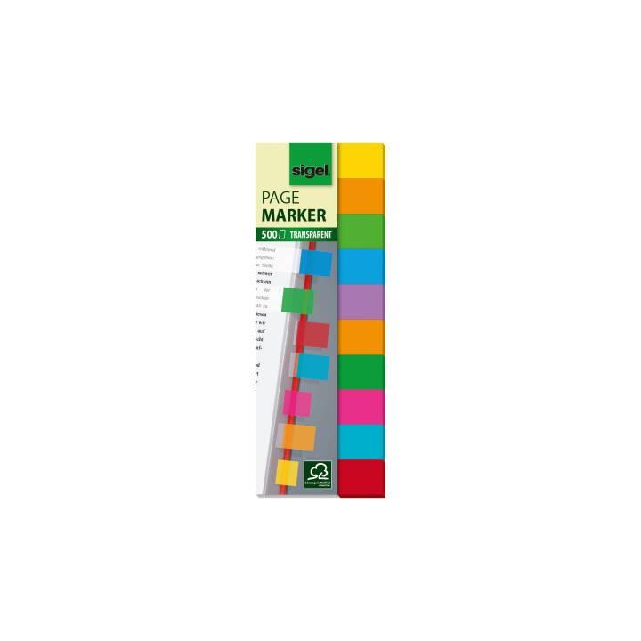 SIGEL Blocchetti memo (44 mm x 12.5 mm, Multicolore)
