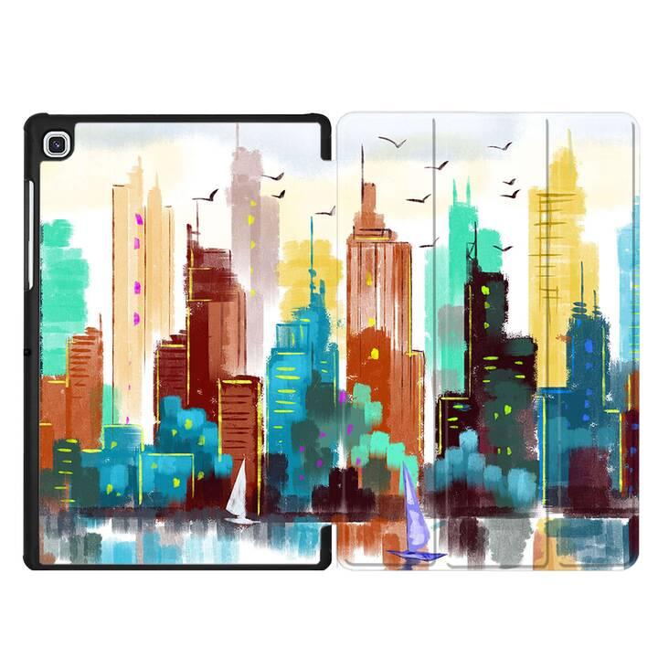 """EG MTT Custodia per Samsung Galaxy Tab S5e 10.5"""" 2019 - pittura"""