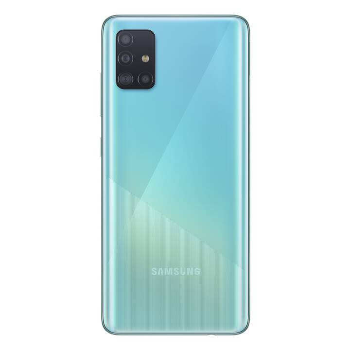 "SAMSUNG Galaxy A51 (6.5"", 128 GB, 48 MP, Prism Crush Blue)"