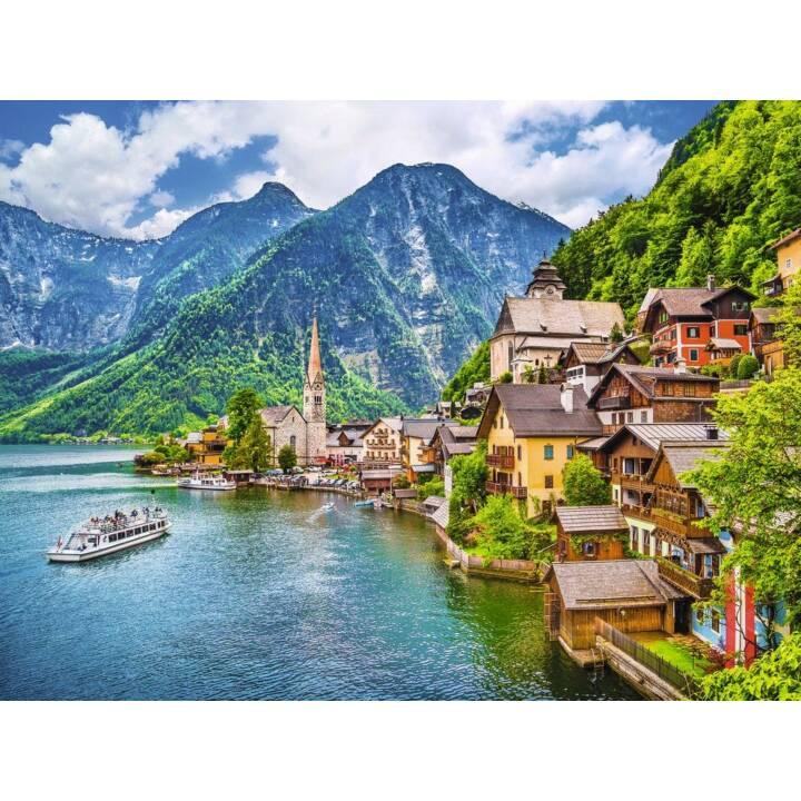 RAVENSBURGER Puzzle Hallstatt in Austria, 500 pezzi