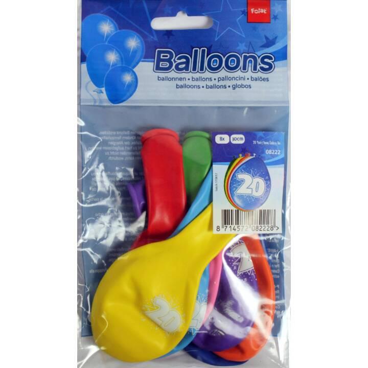FOLAT Ballon sans remplissage 20 (30 cm)