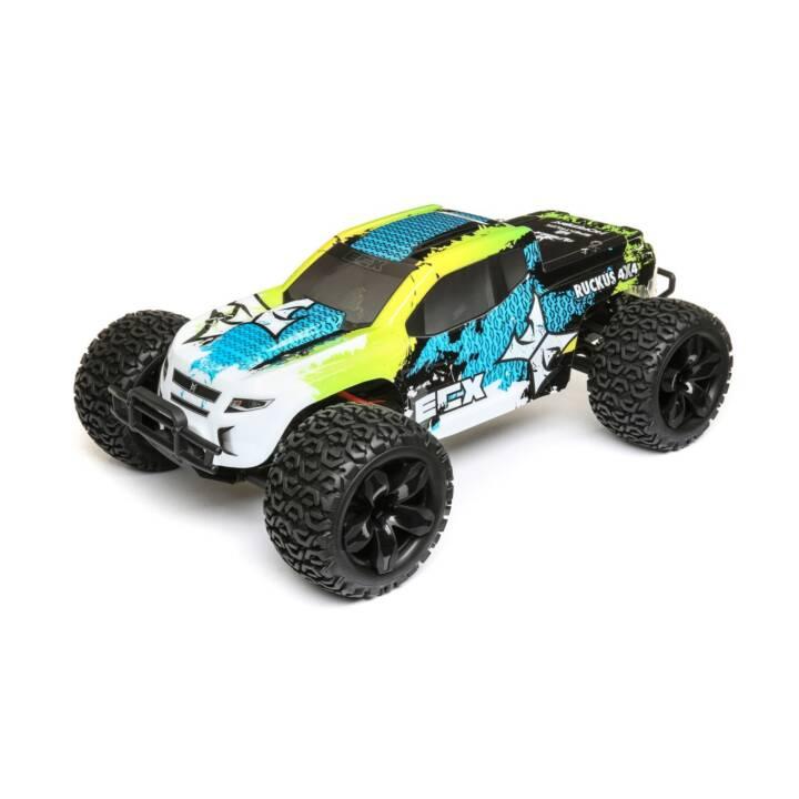 ECX Monster Truck Ruckus, 1:10, vert, bleu