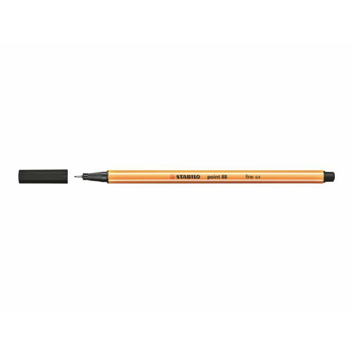 STABILO point 88 penna a punta fine 0.4mm nero