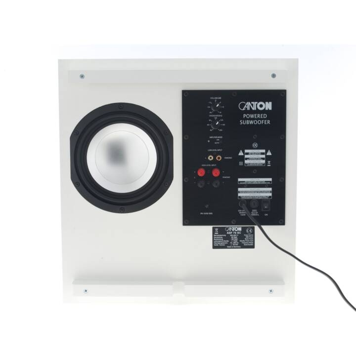 CANTON ASF 75 SC (Subwoofer, Bianco)