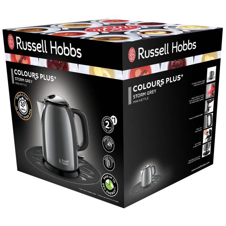 RUSSELL HOBBS 24993-70 Colours Plus (1 l, Grau, Schwarz)