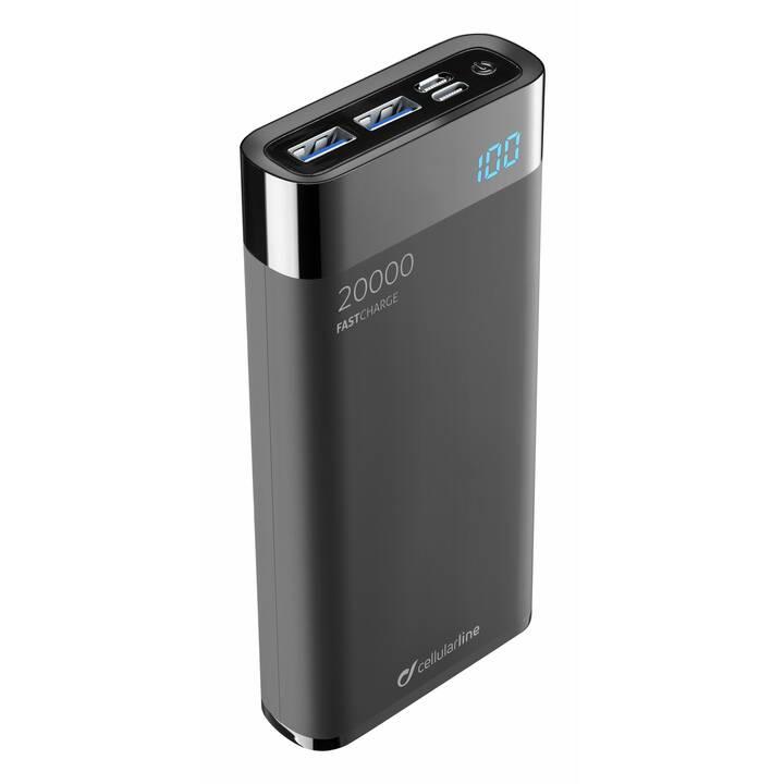 CELLULAR LINE FreePower Manta HD (20000 mAh, Quick Charge 3.0)