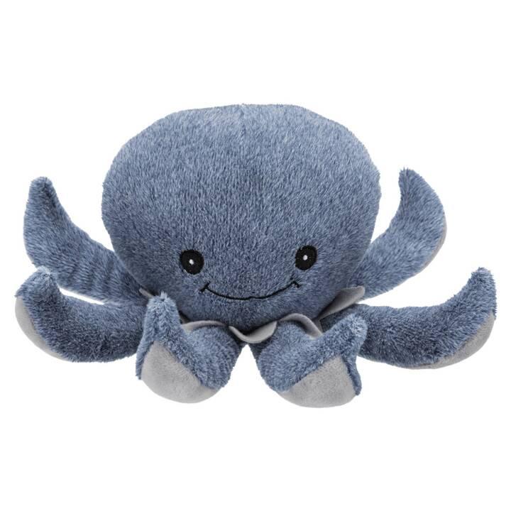 TRIXIE Jouets en peluche BE NORDIC Octopus Ocke (Peluche, 25 mm)