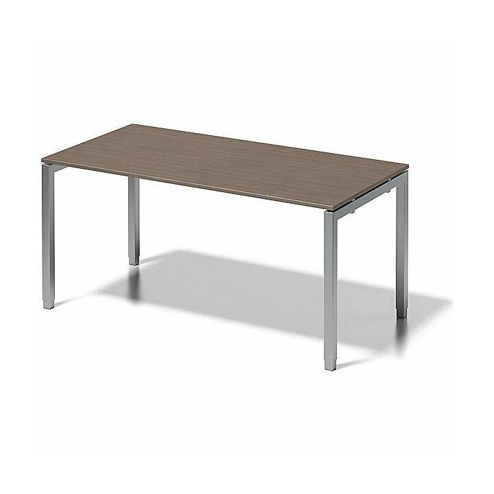 BISLEY Cito (Marrone scuro, Argento, 160 cm x 80 cm x 85 cm)