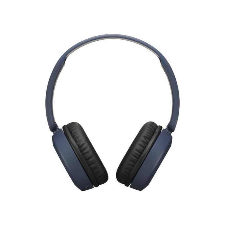 JVC HA-S31BT (On-Ear, Bluetooth 4.1, Bluetooth, Blau)