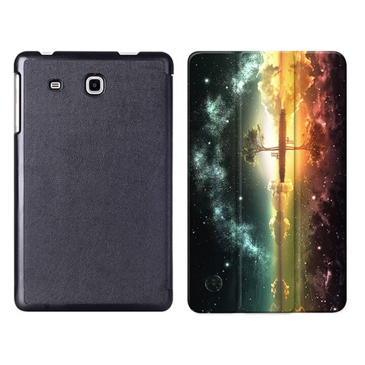 "EG MTT Tablet Bag con coperchio pieghevole Smart per Samsung Galaxy Tab A6 7"" A6 Tablet - Sky"