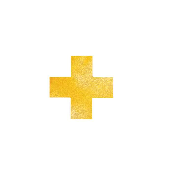 DURABLE X Marcatura del posto di parcheggio, giallo, 10 pz.