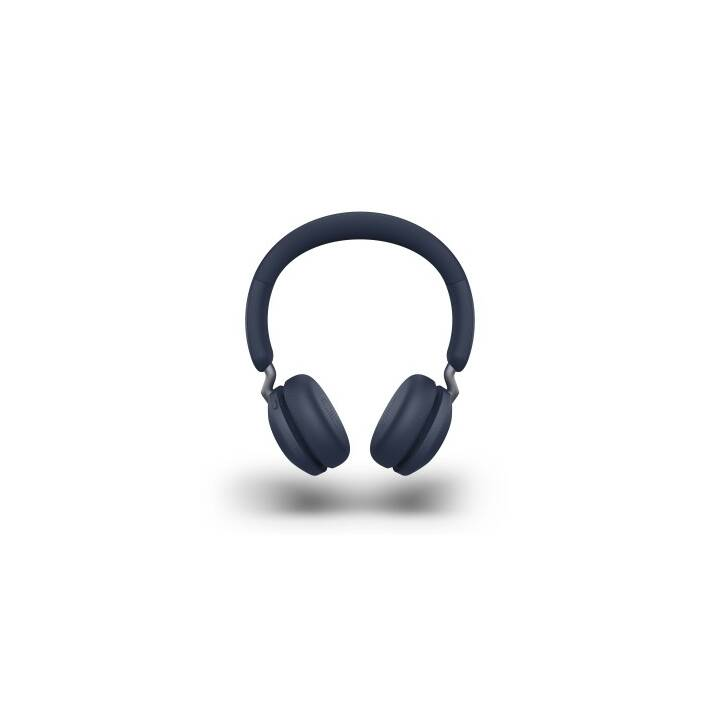 JABRA Elite 45h (On-Ear, Bluetooth, Navy Blue)