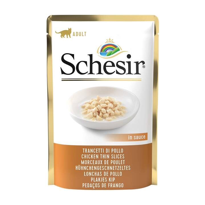 SCHESIR Alimentation humide Poule (Adulte, 1 x 85 g)