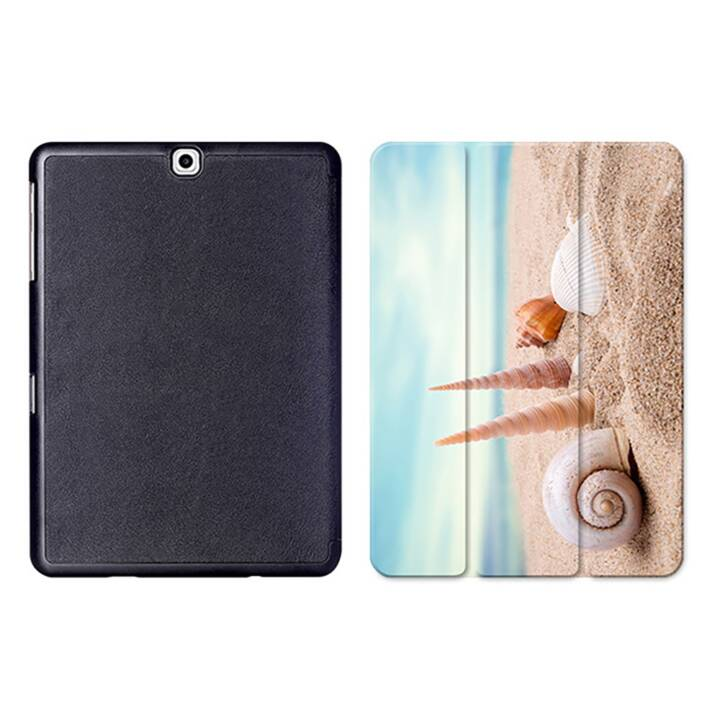 "EG MTT Tablet Bag con coperchio pieghevole Smart per Samsung Galaxy Tab S2 9.7"" MTT - Beach"