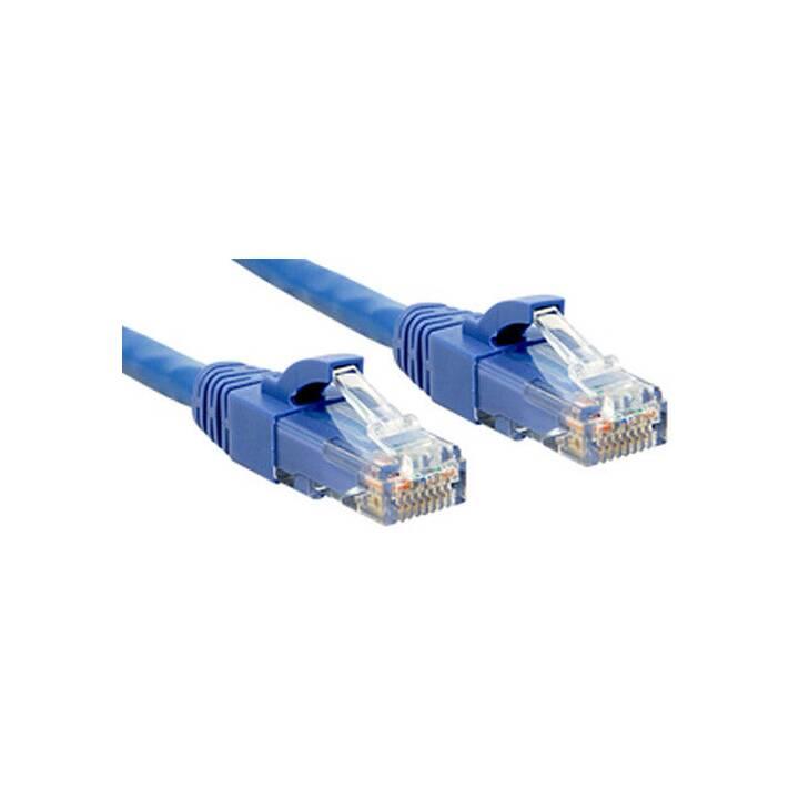 LINDY Premium Premium Patch Cable - 50 cm - Bleu
