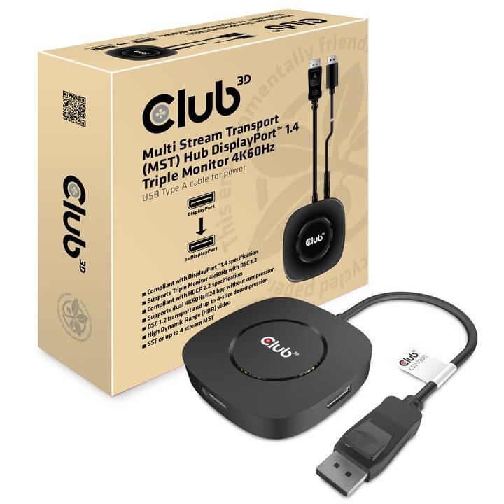 CLUB 3D CSV-7300 Adattatore video (DisplayPort)