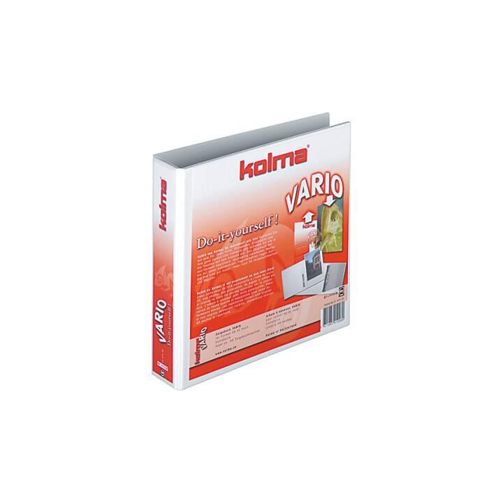 KOLMA RACER Showbook Restless A5 XL blanc 30 mm anneau de 30 mm