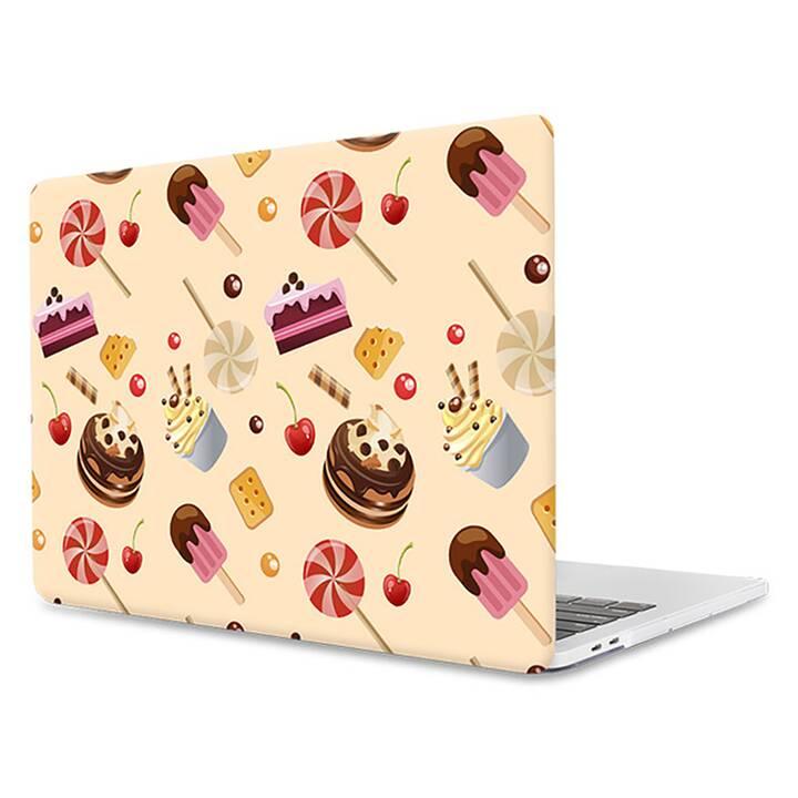 """EG MTT Housse pour Macbook Pro 13"""" pas Touchbar (2016 - 2018) - bonbons"""