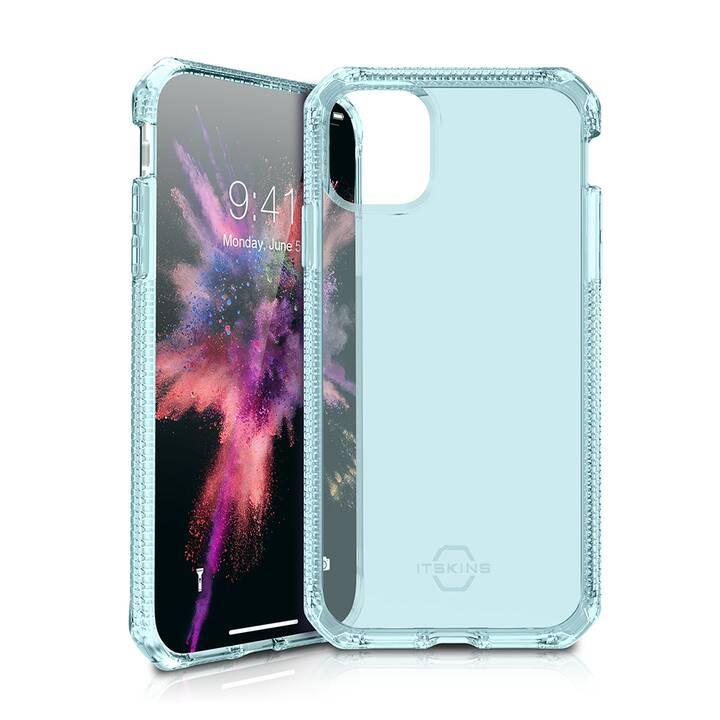 ITSKINS Bumper Spectrum Clear (iPhone 11 Pro, Blau, Transparent)
