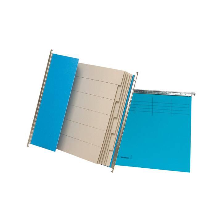 Fascicolo di sospensione del progetto BIELLA, A4, blu