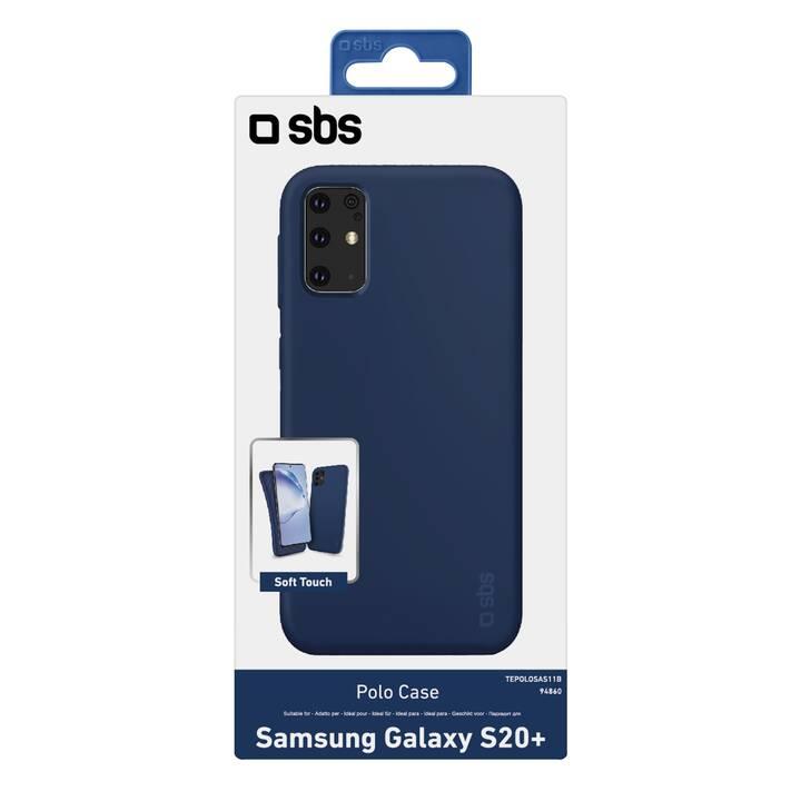 SBS Flipcover Polo Case (Galaxy S20+, Blu)