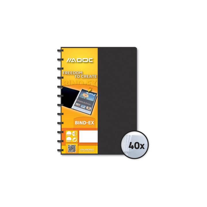 ADOC Libro di visualizzazione A4 nero