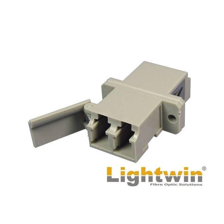LIGHTWIN LWL-Kupplung LC-LC, Multimode, OM2, Duplex